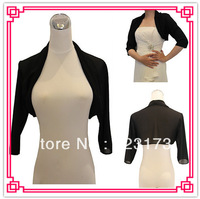 3/4 Sleeve Chiffon Evening/Casual Wrap/Jacket (More Colors) Black Dress Bolero
