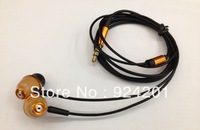 20pcs/lot,FREE SHIPPING Eco-friendly 3.5mm Wooden Earphone Headphone Headset for iPhone iPad Music Player