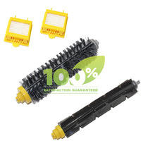 Replacement Brush For iRobot Roomba 700 760 770 780 Bristle Brush and Flexible Beater Brush 2 Piece HEPA Filter