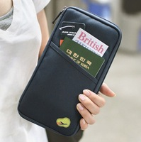 free shippingnew arrival hot sale fashion men women briefcases bags, nylon passport bag,travel handbags,money business card bag