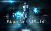 "10 Halo 4 AI Cortana 22""x14"" inch wall Poster with Tracking Number"