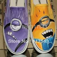 minion canvas shoes despicable me shoes custom despicable me shoes despicable me sneakers