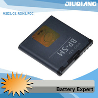 Free Shipping BP-5M Battery BP-5M For Nokia 5610 6110 5700 6500 slide 8600 luna 7390 6500s 6110-N 6220-C Mobile Cellular Phone