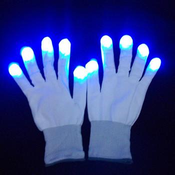 Finger Light Shows Gloves flash finger light