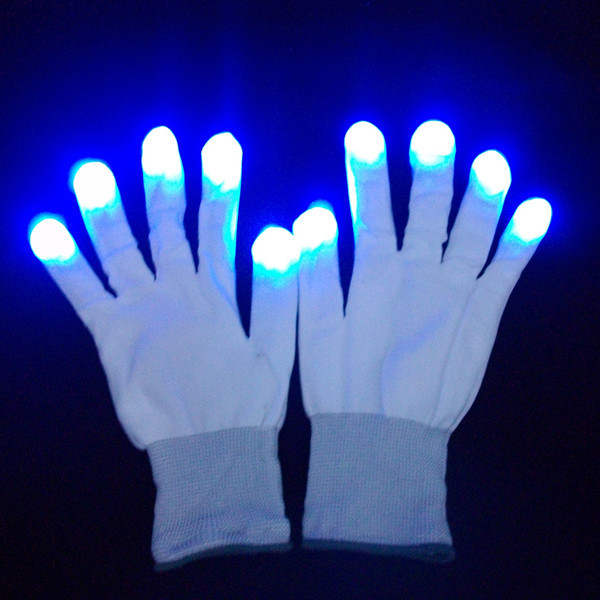Finger Light Shows Gloves flash finger light