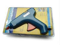 Free Shipping Wholesale (CE GS) 40W 230V Electric Hot Melting Glue Gun With Extra 15PCS 25CM Silicone Glue Sticks Free