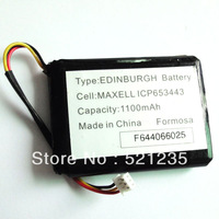 ICP653443 3.7V 1100mAh GPS Rechargeable Battery For TomTom One XL, XL 325 Edinburgh VF9