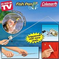 Telescopic Mini Fishing Rod Pen Portable Pocket Aluminum Alloy Fishing  Pole with Reel (Whole Set)