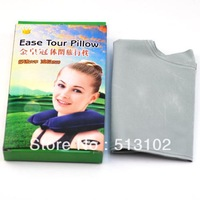free shipping inflatable leisure travel pillow easy portable for your journey