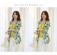 2013 new fashion Slim Floral lady suit Jacket 780 Women