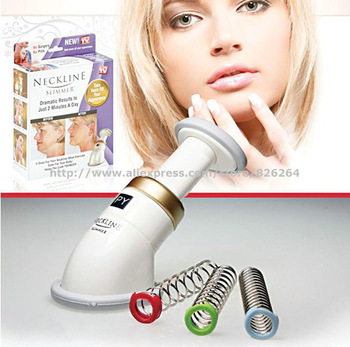 Free Shipping 150pcs/lot Neckline Slimmer NeckLine Exerciser Chin massager As Seen On TV