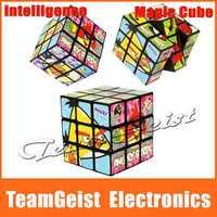 Hot Sale 3x3x3 cartoon Magic Cube magic Square Cube educational cube toys intelligence toys GIFT