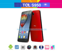 "TCL idol X S950 Android phone 5"" FHD Screen 1920*1080 MTK6589T Quad Core 2GB RAM 1.5GHz 13MP Camera Bluetooth Dual sim card"