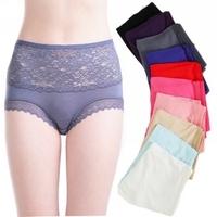 2014 new supernova sale women underwear; women's erotic lace panties; high waist  modal lingerie; fantasias calcinha & cuecas