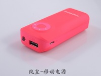 New Portable Battery Charger External usb power bank 5600mah