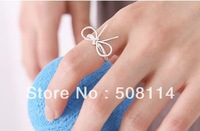 Wholesale Simple and graceful bow Korean star ring 12pcs/lot R0015