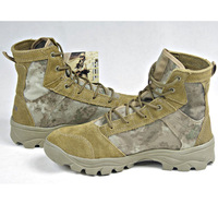Camouflage A-TACS tactical boots desert delta swat boots men's low summer hunting airsoft paintball boots free shipping