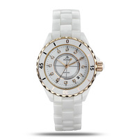 Free shipping ceramic with diamond lovers authentic fashion luxury watches