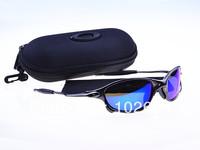 Free shipping  Best quality Designer sunglass men's/women's Juliet Sports Sunglass The polarized lens new with box