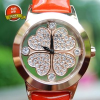 Free shipping Four leaf clover fashion ladies watch watch