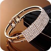hot selling 2014  wholesale elegant temperament starry sky full drill wide bracelet free shipping 2075