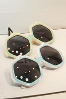 House of holland eyewear 2013 new design hexagon sexangle big face sunglasses, Free Shipping