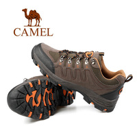 Free Shipping 2014 new  leather outdoor running shoes for men breathable men's cheap brand name athletic shoes