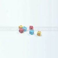 Pardew dice unique dice multicolour small dice side 5mm toy dice