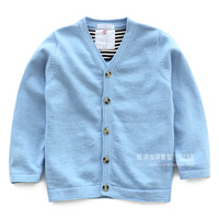 Children's clothing autumn 2013 all-match male female child sweater cardigan baby child sweater outerwear