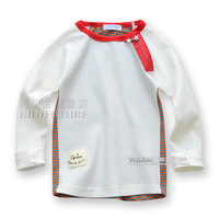 Children's clothing autumn 2013 all-match male female child 100% cotton long-sleeve T-shirt baby clothes child top