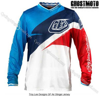 Troy Lee Designs GP Air Stinger Jerseys Motocross MX DH Off Road MTB Mountain Bike Bicycle Cycling Jersey Wear Clothing T shirts