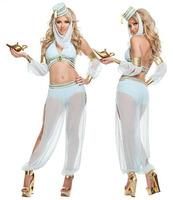 2014 New Sale Adult Novelty Women Wholesale - Sexy Lingerie Belly Dancer Arabian Princess Jasmine Halloween Costume Shipping