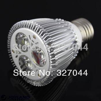 10X Dimmable Led Lamp Spotlight E27 85-265v  warm or Cool White Par20 3X3W 9W Spotlight 85V-265V Led Light Led Bulbs
