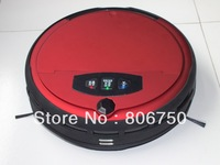 (Free Shipping to Russian) Wet And Dry Moping Intelligent Robot Vacuum Cleaner With Voice Function and Two Side Brush