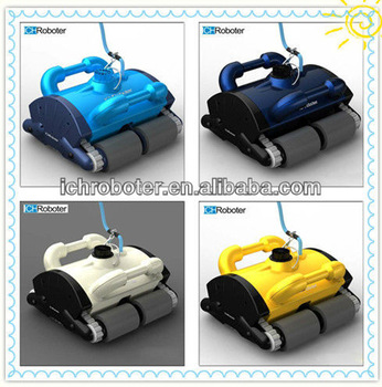 Low consumption robotic pool cleaner, swimming pool cleaner robot