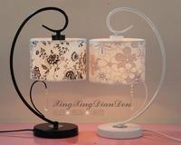 2013hostala European modern minimalist fashion crystal lamp bedroom bedside lamp dimmer den LED idyllic wedding