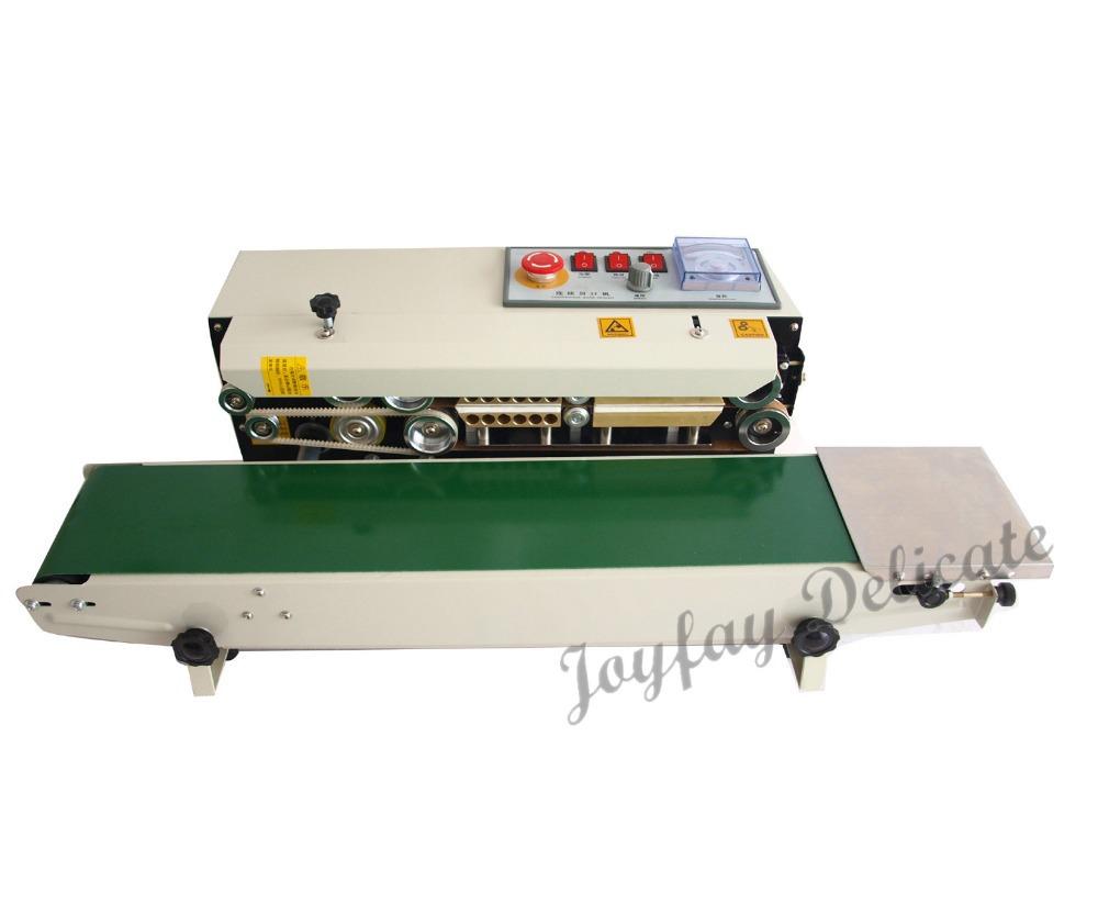 Automatic Horizontal Continuous Plastic Bag Band Sealer Sealing Machine FR770 One Year Warranty(China (Mainland))