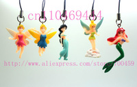 Lot 10 PCS lovely TinkerBell Cell Mobile Phone charms straps  Free Shipping