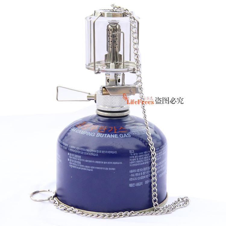 Outdoor mini fan camp light mini gas stove 5 lamp yarn Contains no tank(China (Mainland))