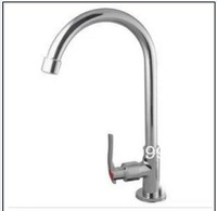 The copper elevated faucet in the kitchen 8015