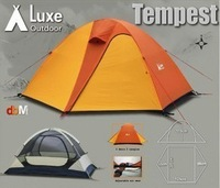 Luxe tempest ultra-light double ledger aluminum tent hiking tent