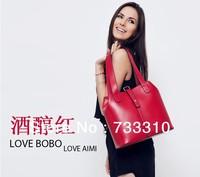 Hot Sale 2013 Fashion Korean style Brand Genuine leather Women handbags Female shoulder bags Ladies Handbag, Messenger Handbag