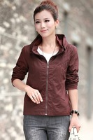 Autumn women's casual plus size seiko embroidery cardigan spring and autumn short jacket hot-selling 750