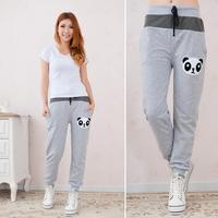 Panda casual trousers sport pant Free Shipping