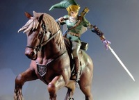Limited Figures-Legend of Zelda Twilight Princess Link on Epona Statue --- CONTACT BEFORE YOUR ORDER to RENEW PRICE