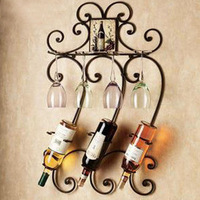 Fashion iron wine rack wine rack wall mounted wine rack wine rack