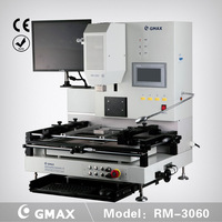 GMAX RM-3060 Optical Hot Air BGA Rework Station Machine with touch screen