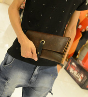 Vintage 2013 male clutch male men's day clutch bag casual man bag purse men's wallets for man leather bags