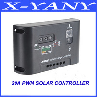 NEW HERE 20A Solar Panel Charge Controller indoor Light Regulator 12V/24V AutoSwtich