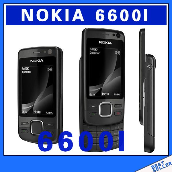 Original unlocked Nokia 6600i Slider Mobile Phone Good quality multilingual Free Shipping Refurbished(China (Mainland))
